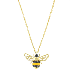 Necklace with pendant Bee