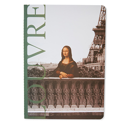 Louvre Notebook A5 - Mona Lisa