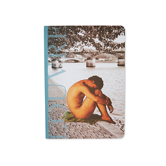 Louvre Notebook A6 - Nude Youth Sitting