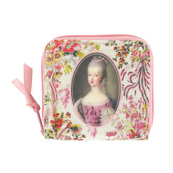 Pink small Wallet Marie-Antoinette - Ladies of the court