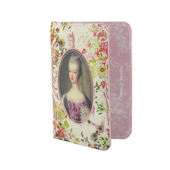 Pink passport holder Marie-Antoinette - Lady of the court