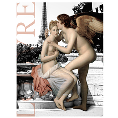 Louvre poster - Love and Psyche