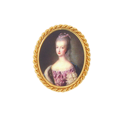 Portrait Marie-Antoinette Brooch - Ladies of the Court