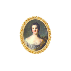 Portrait Madame Victoire Brooch - Ladies of the court