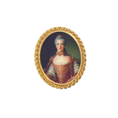 Portrait Madame Adélaide Brooch - Ladies of the court