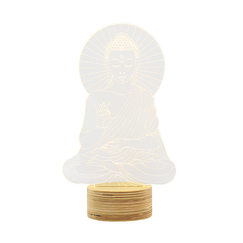 Sitting Buddha Lamp - Studio Cheha