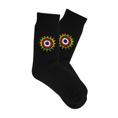 Socks with Cockade Black 41-46