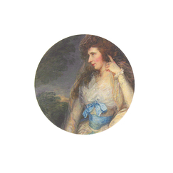 Miroir de sac Lady Bate-Dudley - Gainsborough
