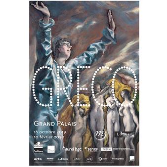 Affiche de l'exposition - Greco