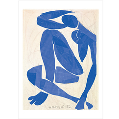 Matisse Poster Blue Nude IV