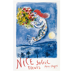 Poster Chagall - The Bay of Angels
