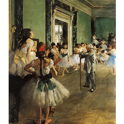 Poster Edgar Degas - The Dance Class
