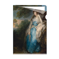 Gainsborough Lady Bate-Dudley Clear-file - A4