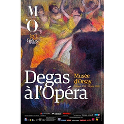 Exhibition poster Degas at the Opera