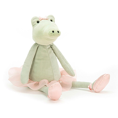 Alligator Ballerina plush toy - Jellycat