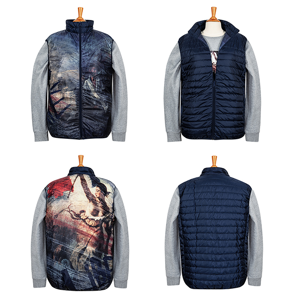 Down jacket Delacroix - Liberty Leading the People