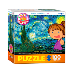 100 Pieces Puzzle - Van Gogh - Starry night
