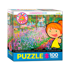 100 Pieces Puzzle - Monet - Garden of Giverny