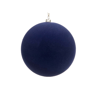 Velvet Christmas ball - Dark Blue
