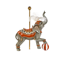 Circus Elephant Christmas Decoration