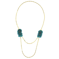 Green Sexto necklace - AnaGold