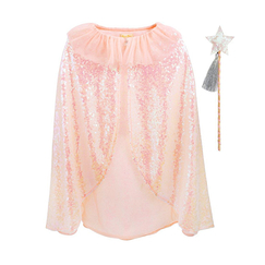 Iridescent Sequin Cape & Wand - Meri-Meri