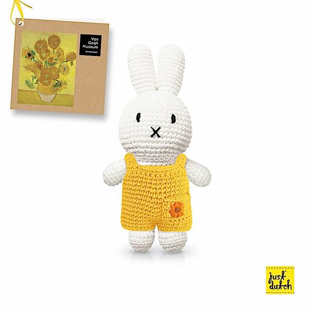 Knitting pattern Miffy bunny rabbit soft toy.