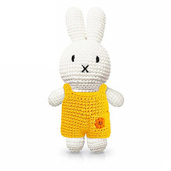 Miffy Plush toy - Sunflowers Overalls