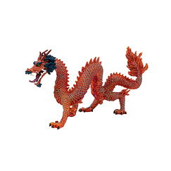 Chinese Fire Dragon figure