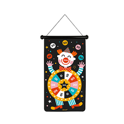 Magnetic Dart Game Circus - Janod