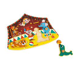 Stars Circus Puzzle 6 pieces - Janod