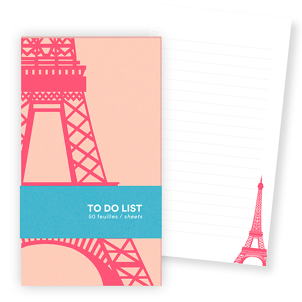 Eiffel Tower To do list