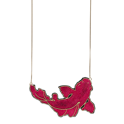 Kingyo Necklace - Red - Nini Peony
