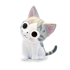 Chi Coin bank - Plastoy
