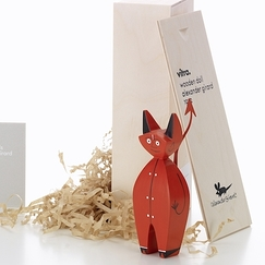 Wooden doll Alexander Girard - Little devil - Vitra