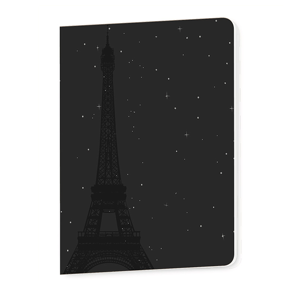 Eiffel Tower starry night Notebook