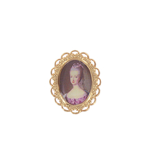 Portrait Marie-Antoinette Ring - Ladies of the Court