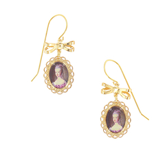 Portrait Marie-Antoinette Earrings - Ladies of the Court