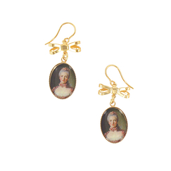 Portrait Madame Adélaide Earrings - Ladies of the court