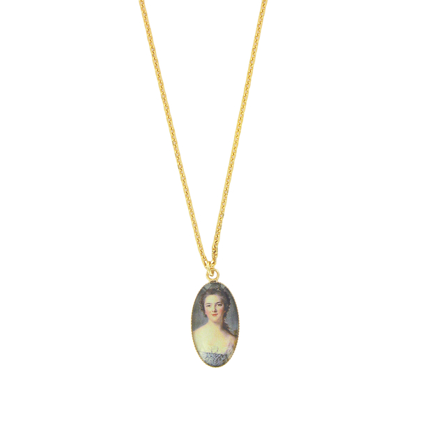 Portrait Madame Victoire Necklace - Ladies of the court