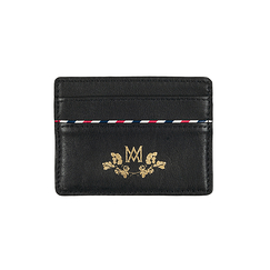 Card holder Marcia Marie-Antoinette - Black - Ines de la Fressange Paris