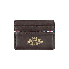 Card holder Marcia Marie-Antoinette - Brown - Ines de la Fressange Paris