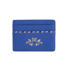 Card holder Marcia Marie-Antoinette - Blue - Ines de la Fressange Paris