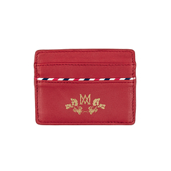 Card holder Marcia Marie-Antoinette - Red - Ines de la Fressange Paris