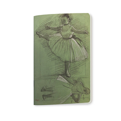 Studies of dancers Degas small Notebook