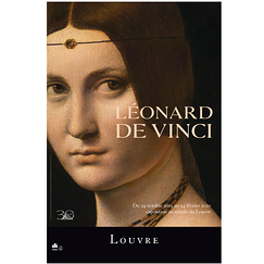Exhibition poster Lenardo Da Vinci - The beautiful ferronniere