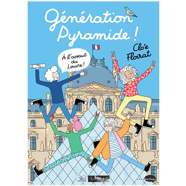 Pyramid generation ! To the attack on the Louvre !