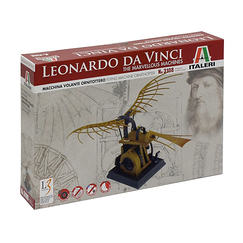 Leonardo Da Vinci Flying machine Ornithopter Model Kit - Italery
