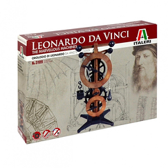 Leonardo Da Vinci Clock Model Kit - Italery