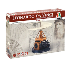 Leonardo Da Vinci Helicopter Model Kit - Italery